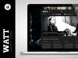 WATT Creative Studio Wordpress Theme
