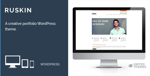Ruskin - Responsive WordPress Theme