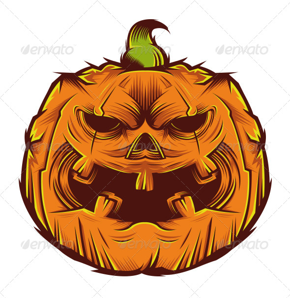 GraphicRiver Halloween Pumpkin 5871407