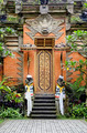 traditional temple door in bali indonesia - PhotoDune Item for Sale