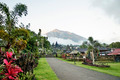 besakih temple and mount agung view in bali indonesia - PhotoDune Item for Sale