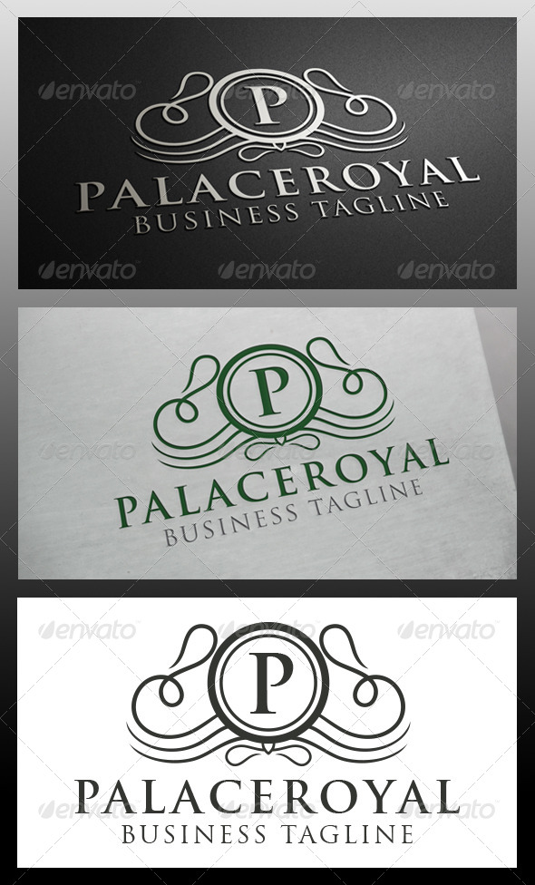 GraphicRiver Palace Crest Logo Template 5872331