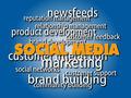 Social Media Words Cloud - PhotoDune Item for Sale