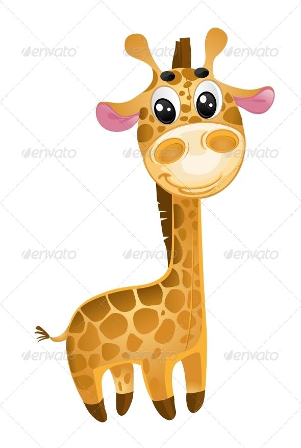 GraphicRiver Soft Toys Baby Giraffe 5873685