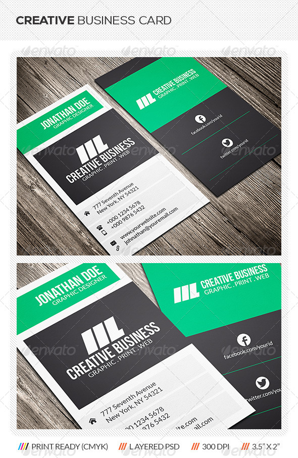 GraphicRiver Creative Business Card 5874090