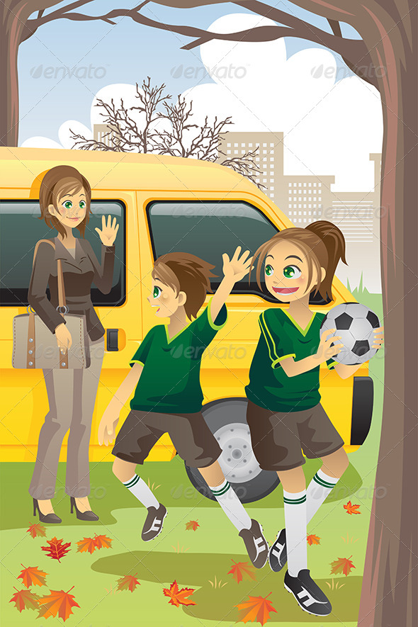 GraphicRiver Soccer Mom 5874553