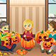Kids Carving Pumpkins - GraphicRiver Item for Sale