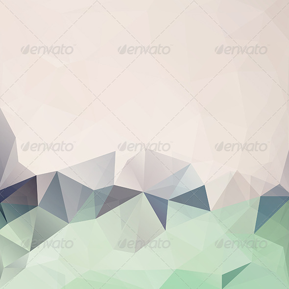 GraphicRiver Abstract Triangle Geometrical Background 5875008