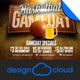 Basketball Game Day Event Promo Flyer - GraphicRiver Item for Sale
