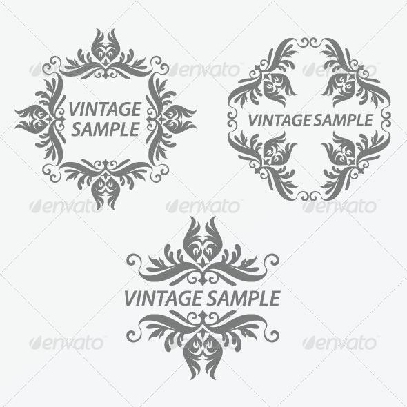 GraphicRiver Vintage Frame 31 5875328