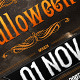 Dark Halloween Party Poster - GraphicRiver Item for Sale