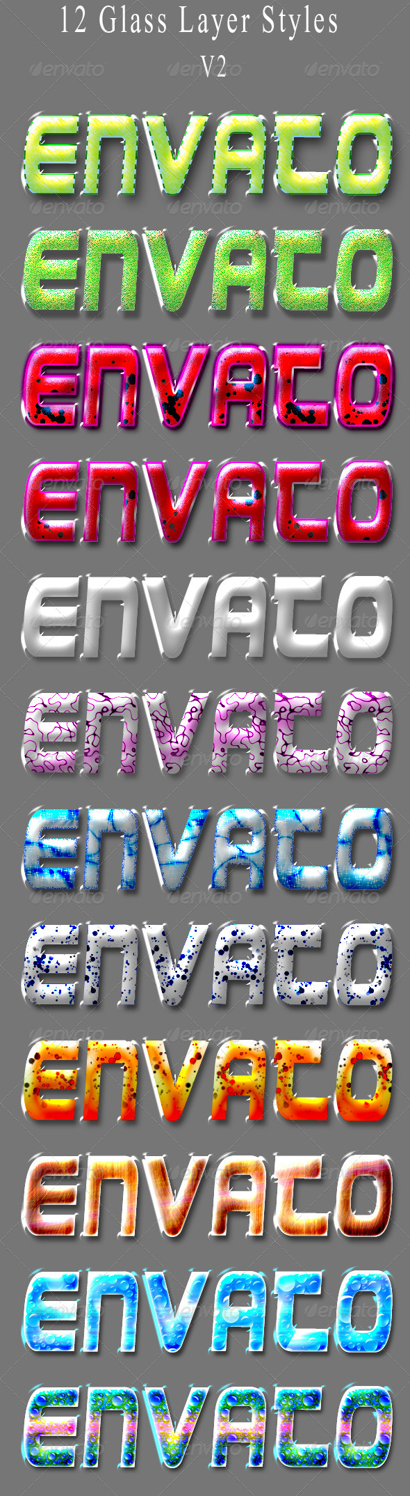 GraphicRiver 12 Glass Styles 5876509