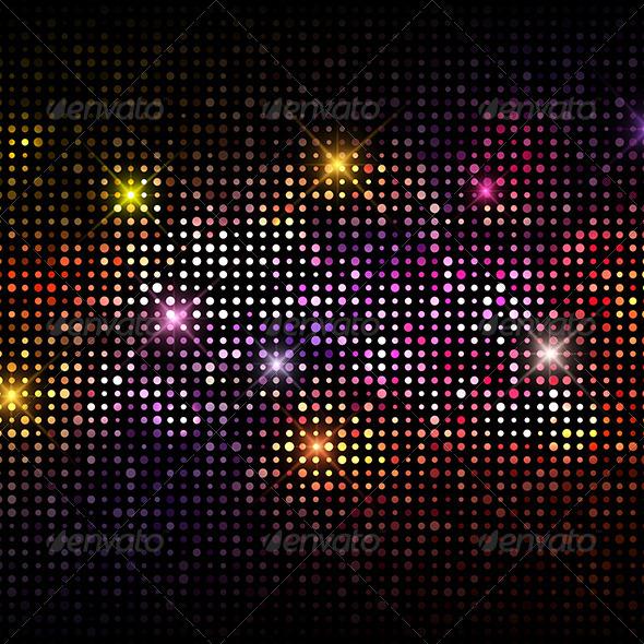 GraphicRiver Disco Lights Background 5877370