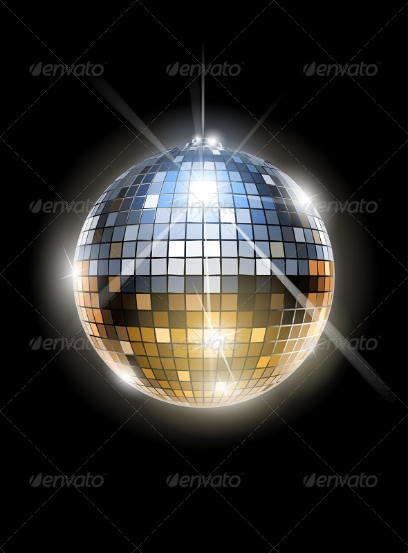 GraphicRiver Mirror Disco Ball 5877601