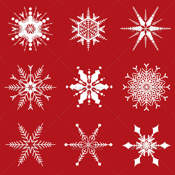 GraphicRiver Christmas Snowflakes 5877962