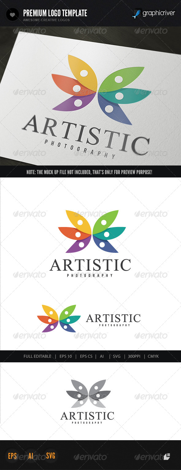 GraphicRiver Artistic Photography Logo 5879812