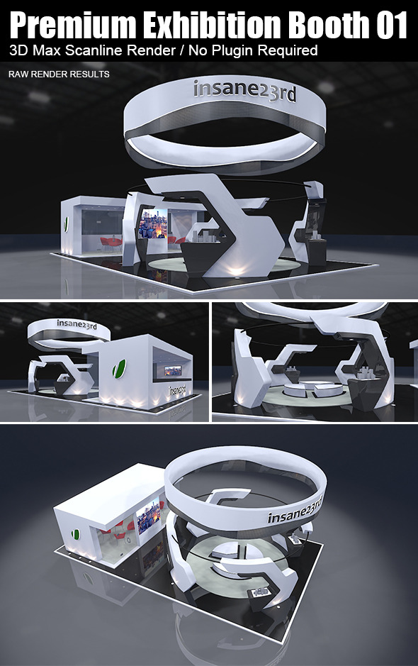 3DOcean Premium Exhibition Booth Design 01 5882351