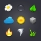 Nature Icons - GraphicRiver Item for Sale
