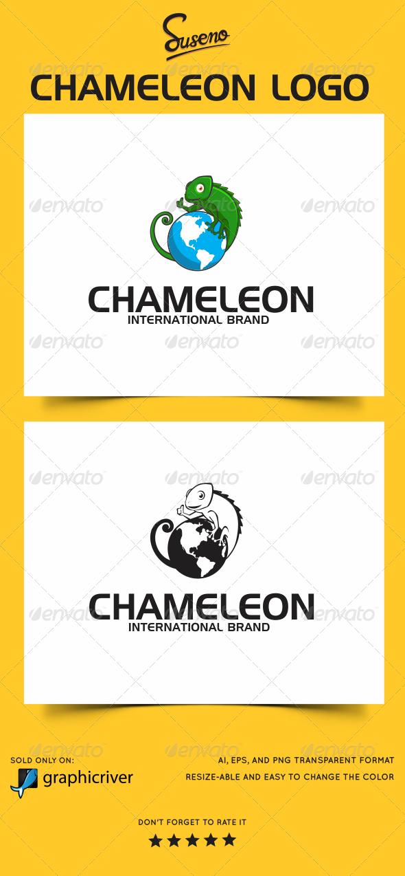 GraphicRiver Chameleon Logo 5850677