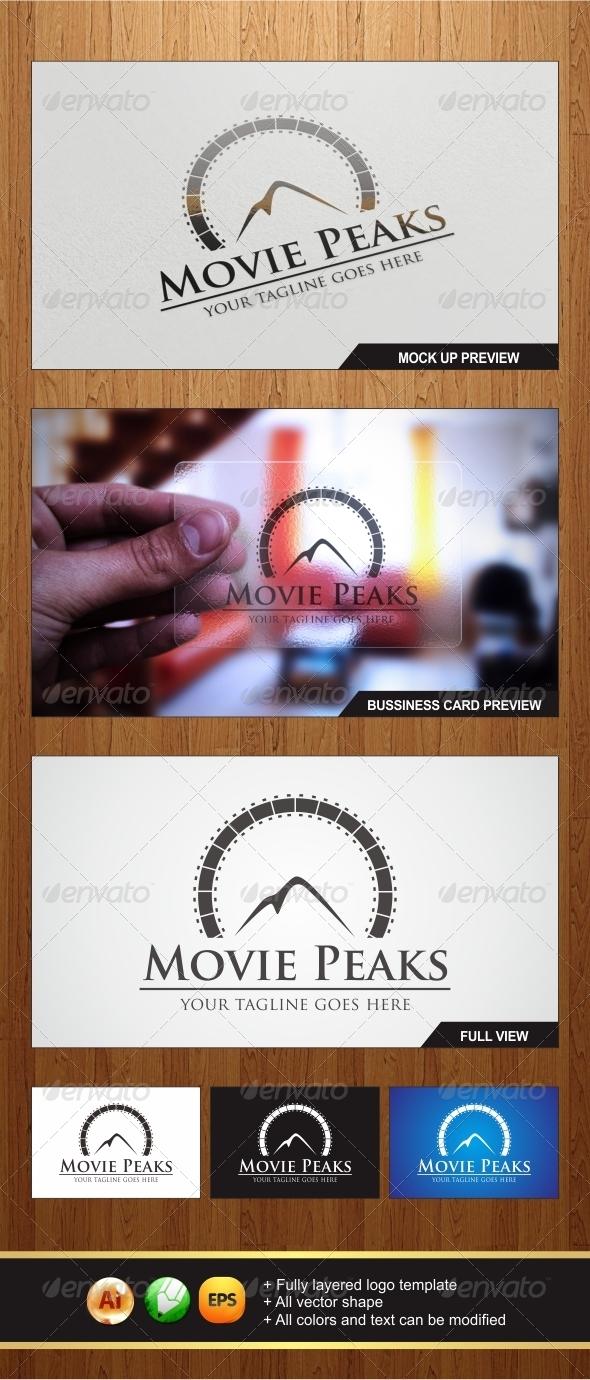 GraphicRiver Movie Peaks Logo 5883982