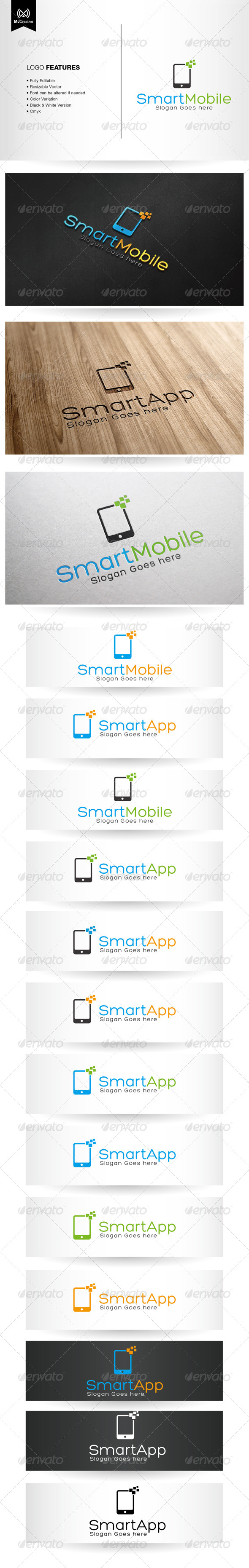 GraphicRiver App and Mobile Logo 5884632
