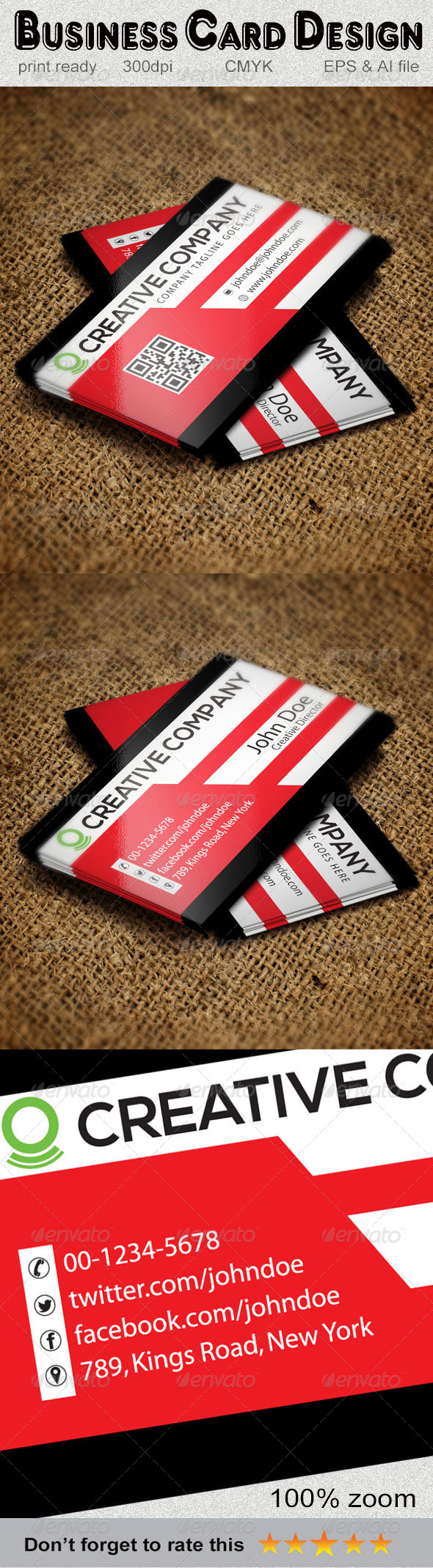 GraphicRiver Creative Business Card-3 5884950