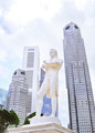 Sir Tomas Stamford Raffles monument - PhotoDune Item for Sale