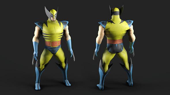 3DOcean Marvel Comics Wolverine 5886148