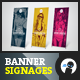 Summer Apparel Sale - Banner Signage 1 - GraphicRiver Item for Sale