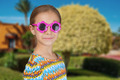 little girl with sunglasses - PhotoDune Item for Sale