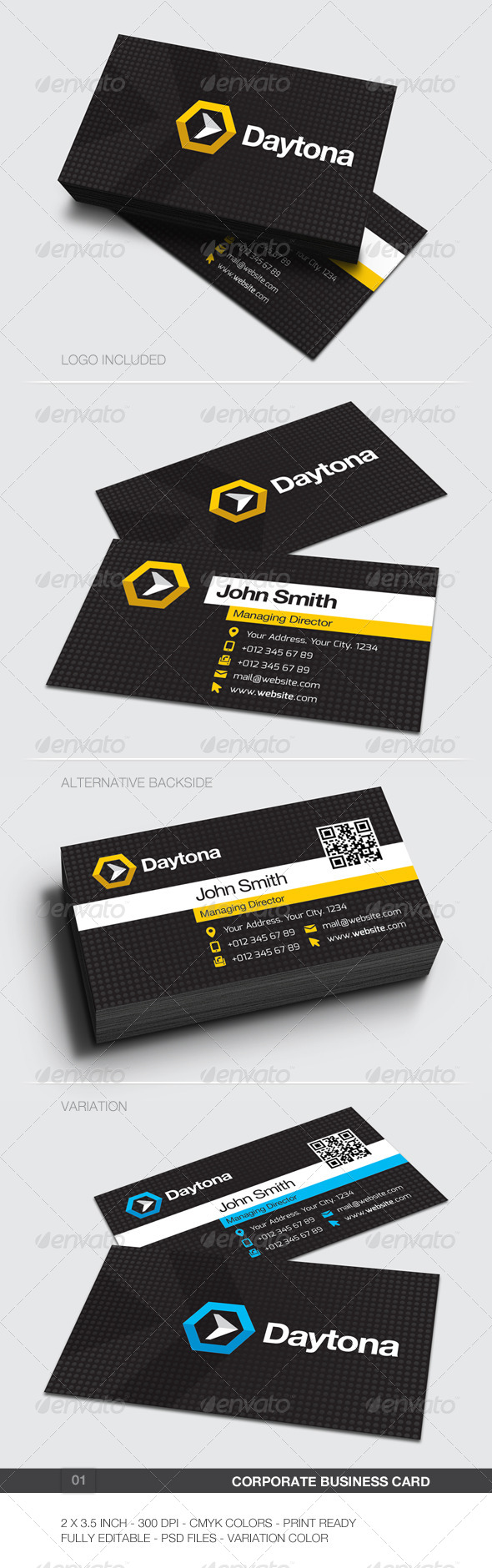 GraphicRiver Corporate Business Card 01 5886583