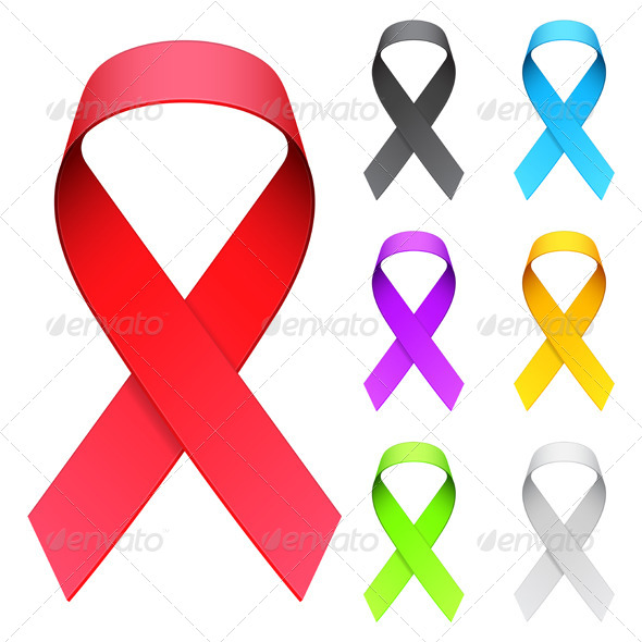 GraphicRiver Aids Ribbon 5887431