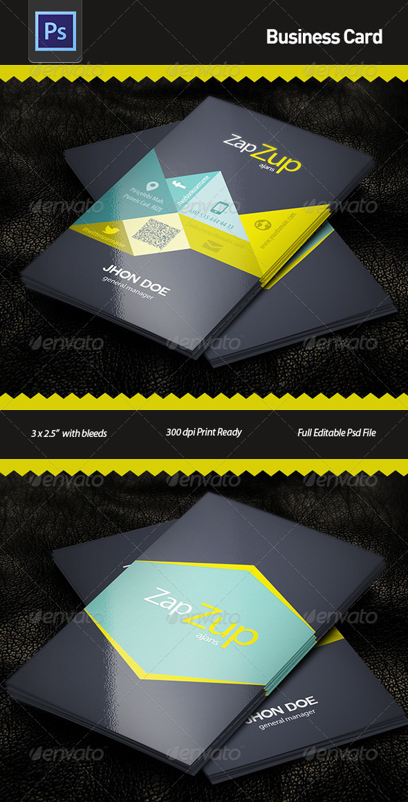 GraphicRiver Business Card 5888226