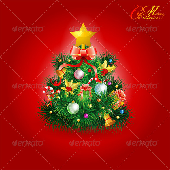 GraphicRiver Christmas Tree 5888265