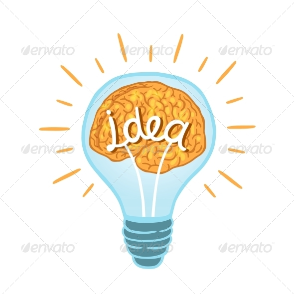 GraphicRiver Creative Light Bulb 5889069