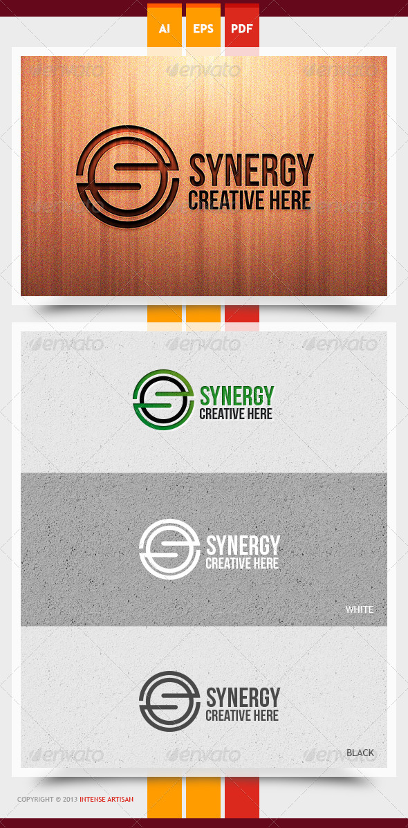 GraphicRiver Synergy Logo Template 5889149
