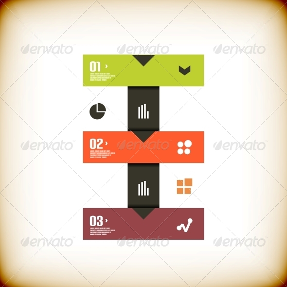 GraphicRiver Modern Ribbon Business Banner Template 5889546