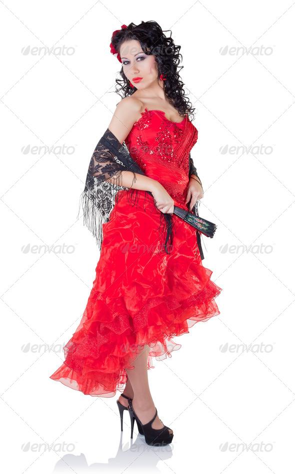 Сняла красное платье 18 фотография