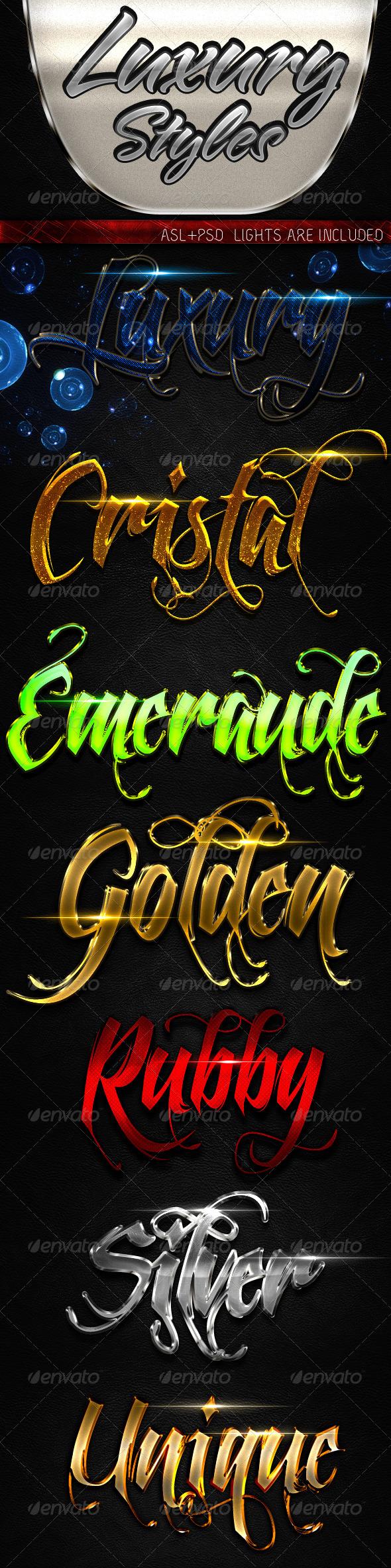 GraphicRiver Luxury Styles 2 5890057