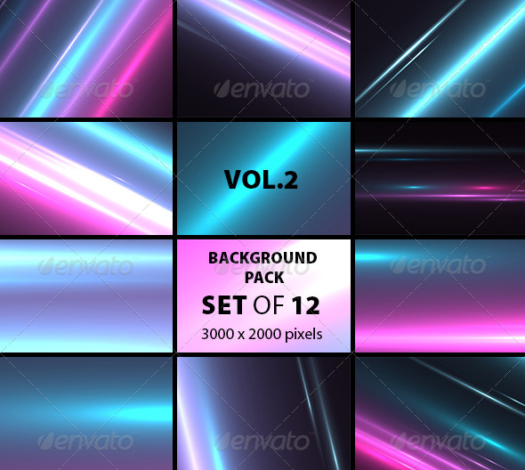 GraphicRiver Light Background Set Of 12 Vol.2 5890636