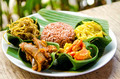 traditional vegetarian curry with rice in bali indonesia - PhotoDune Item for Sale