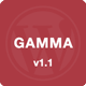 Gamma - Mobile Retina | HTML5 and CSS3 WordPress - ThemeForest Item for Sale