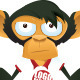 Monkey Mascot Set - GraphicRiver Item for Sale