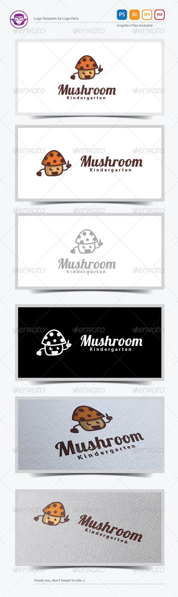 GraphicRiver Mushroom Logo Template 5892444