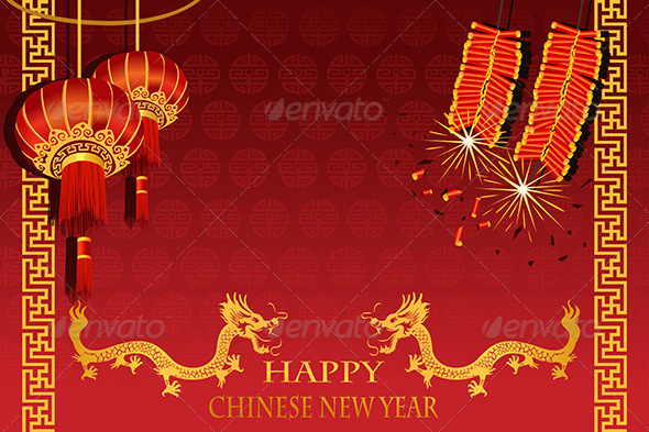 GraphicRiver Chinese New Year 5892452