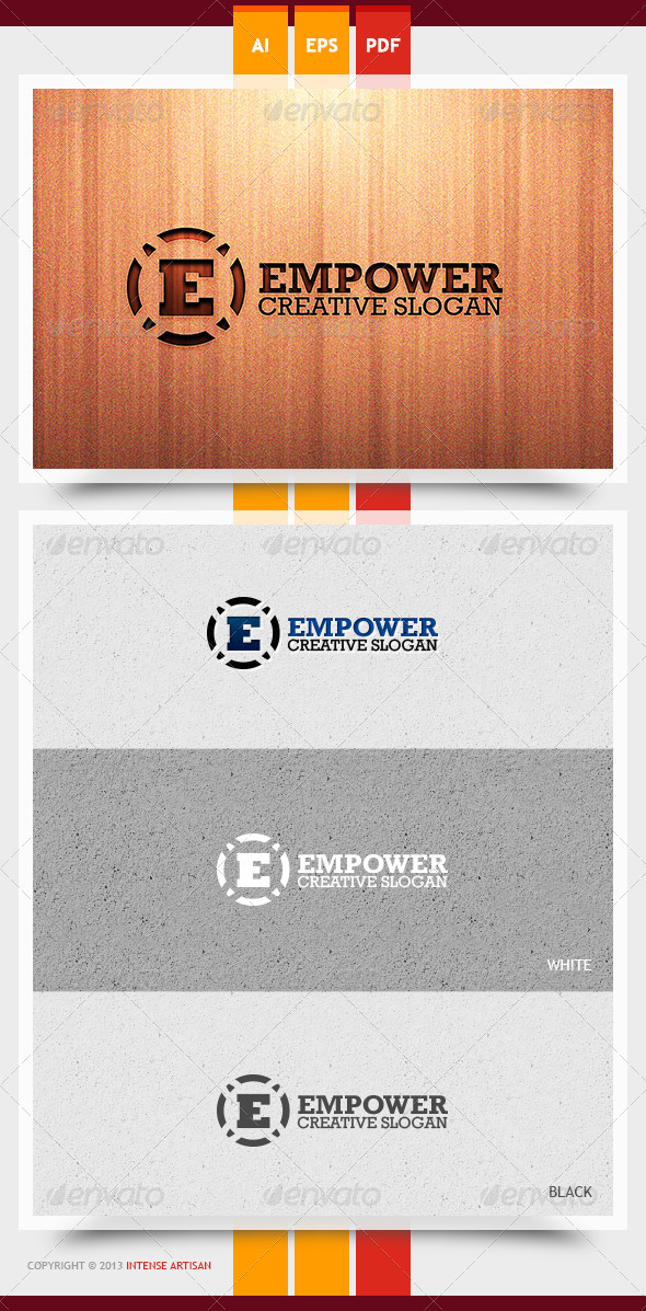 GraphicRiver Empower Logo Template 5893167
