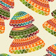 Vector Seamless   Christams Pattern  - GraphicRiver Item for Sale