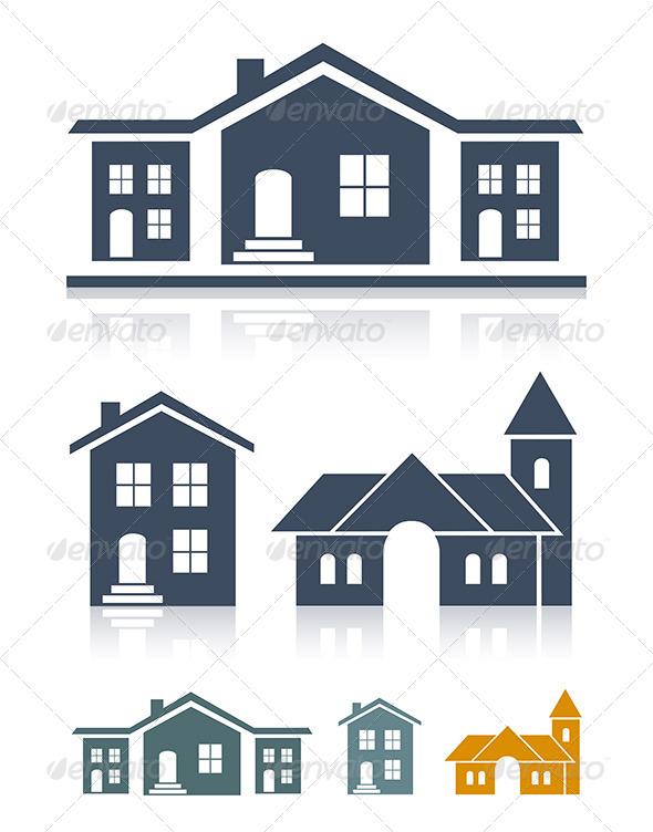 GraphicRiver Real Estate Icons 5893921