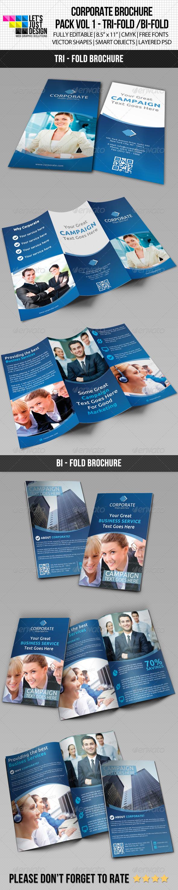 GraphicRiver Corporate Brochure Pack Vol 1 5897224