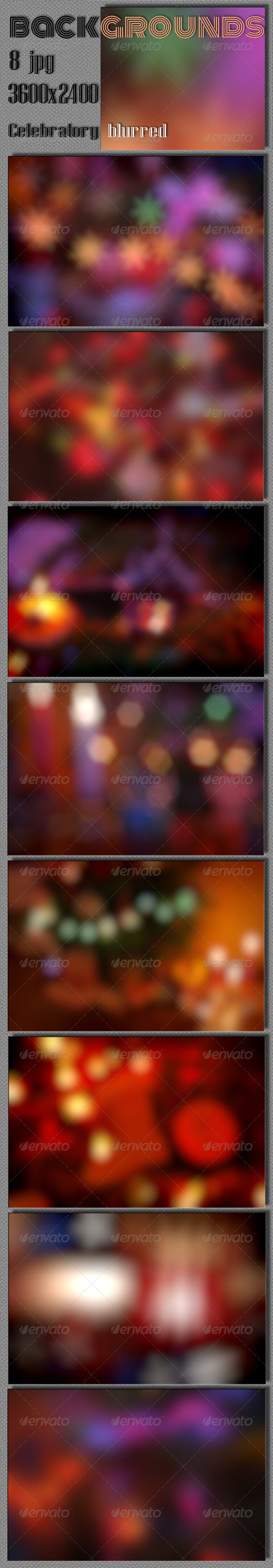 GraphicRiver Celebrate Blurred Background 5898415